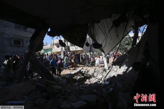 """约旦谴责以色列""""野蛮""""空袭加沙 要求立即停止"""