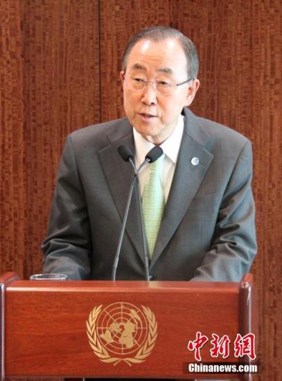 加沙联合国学校内火箭弹失踪 潘基文表示愤怒