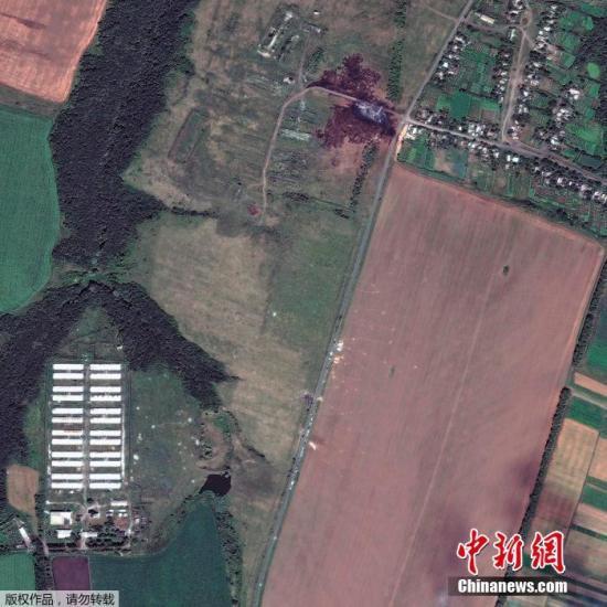 """美媒称无证据显示俄""""直接参与""""MH17坠机事件"""