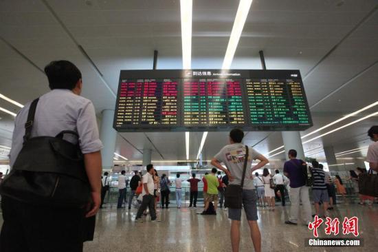 资料图:上海虹桥机场。<a target='_blank' href='http://www.chinanews.com/'>中新社</a>发 张亨伟 摄