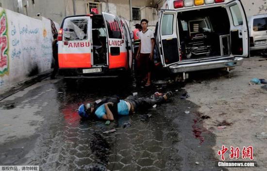 加沙地带72小时无条件人道停火正式生效