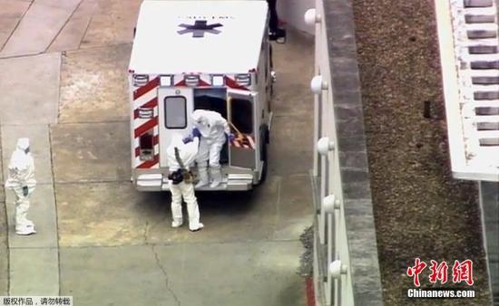 第2位染埃博拉病毒美国人启程返美 将隔离治疗
