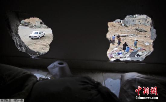 巴以72小时停火将结束 加沙火箭弹再袭以色列