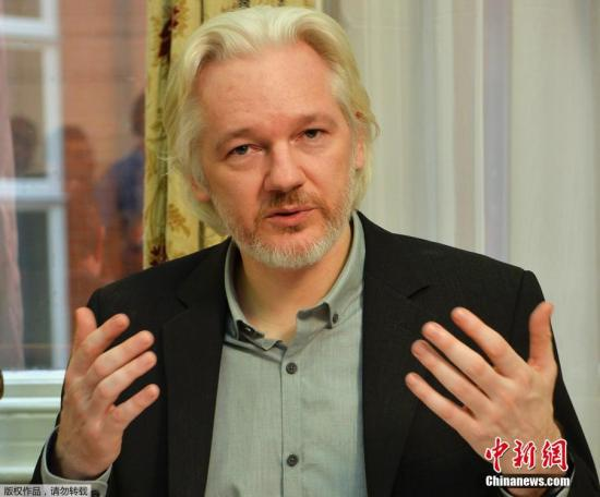 """""""维基解密""""网站创始人阿桑奇当地时间18日召开资讯发布会时表示,确认自己将于不久后离开厄瓜多尔驻英国使馆,但他并未提及具体离开的时间及更多细节。阿桑奇表示,自己的健康状况4年来不断恶化,他希翼英国当局不再对其进行通缉,让他重获自由。"""