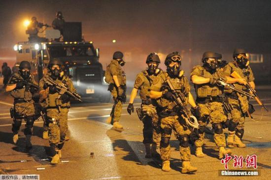 美媒:美国黑人之死引发骚乱 源自种族不平等