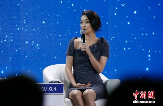 周迅 资料图。 <a target='_blank' href='http://www.chinanews.com/'>中新社</a>发 刘关关 摄