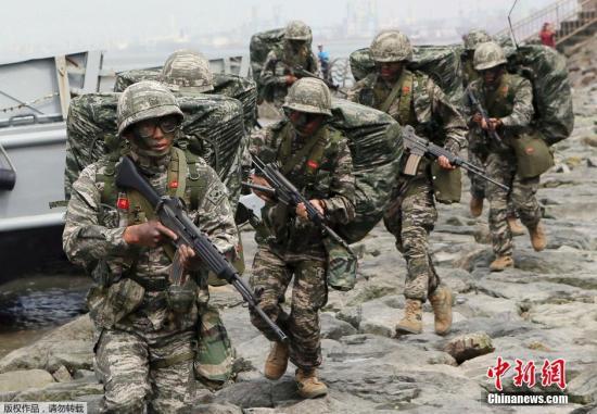 韩前线部队一士兵遭枪击身亡:头部中弹原因不详