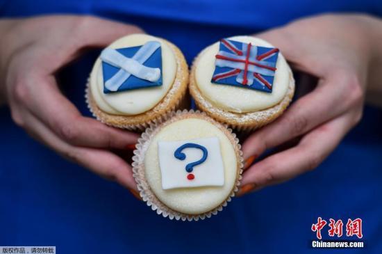 资料图:苏格兰在上一次独立公投中选择留在英国。