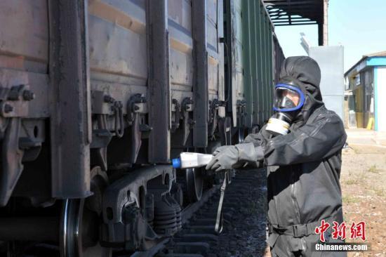 北京至莫斯科国际列车首次跨境运输货物通关