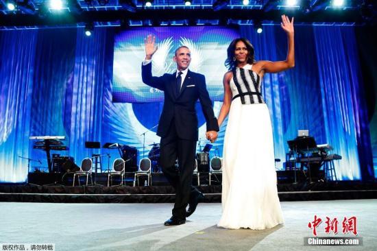 米歇尔将陪奥巴马访印度 近2年来首次携手出访