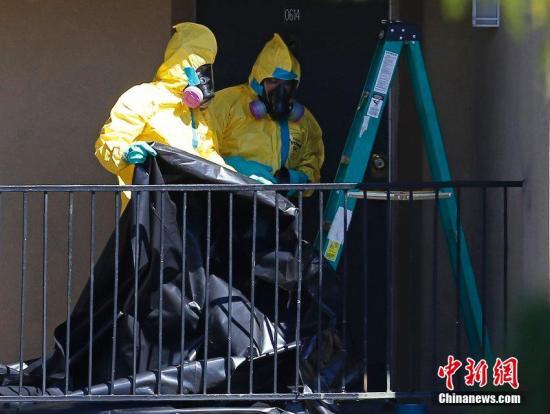 美本土首位埃博拉患者身亡 带病毒遗体将被火化