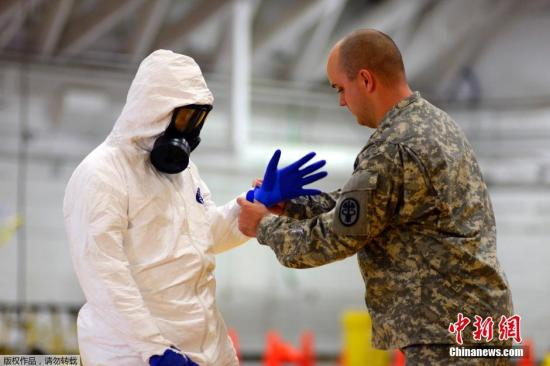 埃博拉疫情持续扩散 全球各国加强防控措施(图)