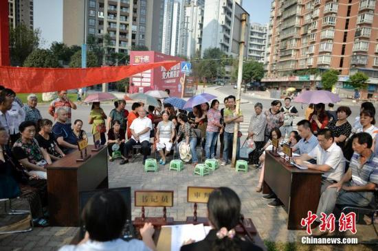 巡回法庭。图片来源:CFP视觉中国