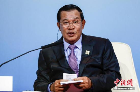 """柬埔寨首相提醒政府官员不为毒品集团做""""背后靠山"""""""