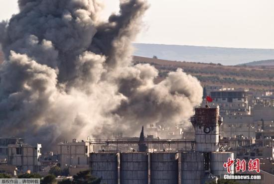 """美国证实伊朗空袭""""伊斯兰国"""" 未配合美军行动"""