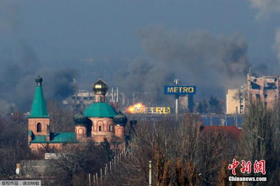 """乌总统称准备""""全面战争"""" 欧盟讨论对俄新制裁"""