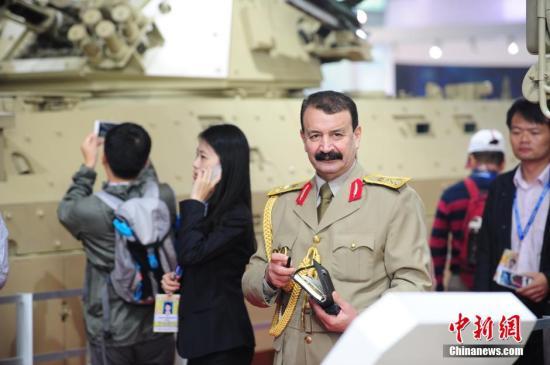资料图:外国军人。<a target='_blank' href='http://www.chinanews.com/'>中新社</a>发 陈文 摄