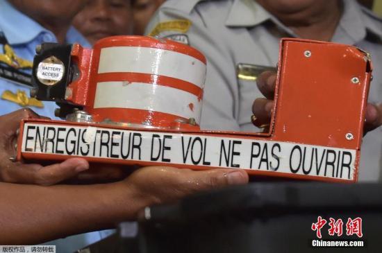 印尼总统盼黑匣子尽速解读 揭开亚航失事谜团
