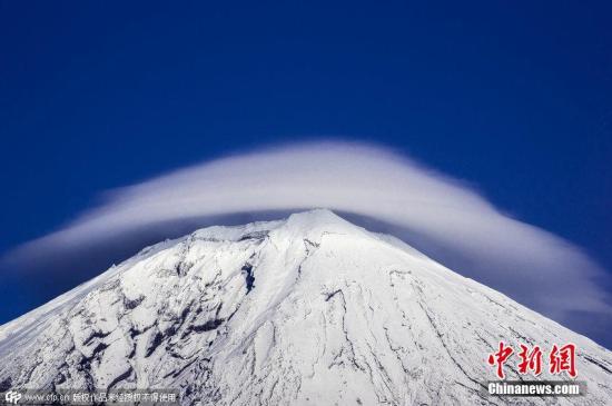 资料图:日本富士山。图片来源:CFP视觉中国