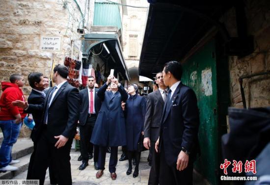 """安倍在以色列演讲 日政府称意在强调""""不战誓言"""""""