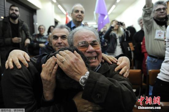 希腊选举反对党获胜 占近半议席得票率逾36%