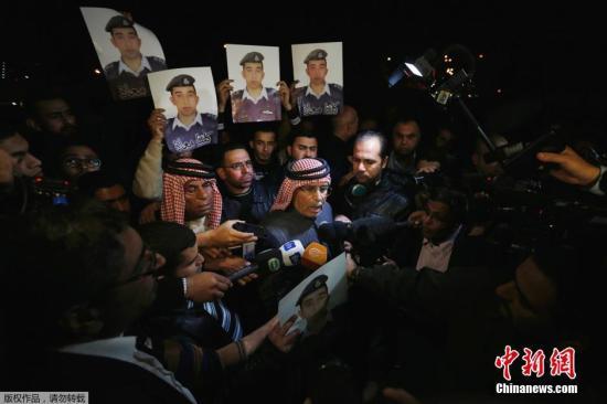 约旦官员称拟放IS女囚换飞行员 未提日本人质