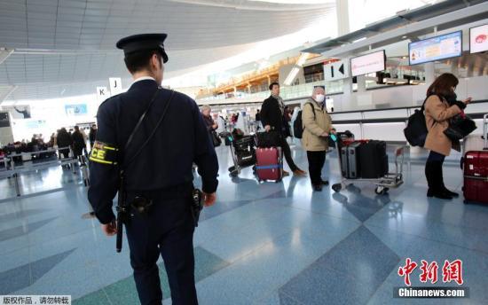 日本加强机场反恐 国内航班乘客亦需脱外套安检
