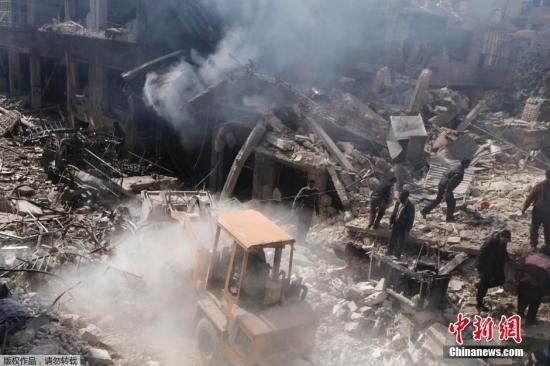 安理會一致通過決議要求敘境內各方停火至少30天