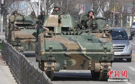 美韩宣布停止大规模联合军演以小规模训练取代