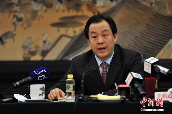 陆昊。 <a target='_blank' href='http://www.chinanews.com/'>中新社</a>发 金硕 摄