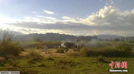 阿根廷两架直升机相撞 机上10人全部遇难