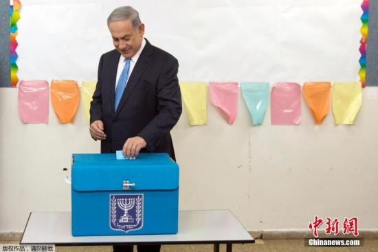 以色列总理或再会蓝白党领导人 谋求组阁政府