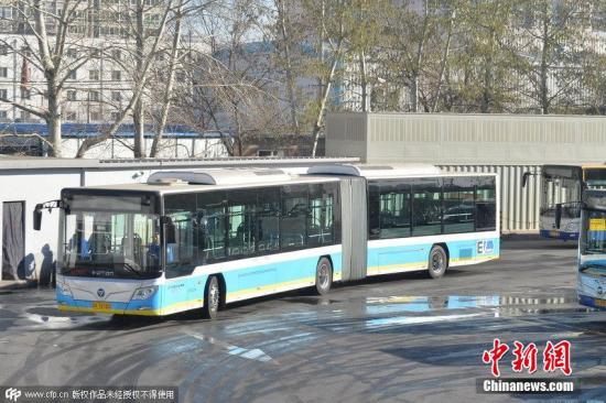 材料图:北京公交。