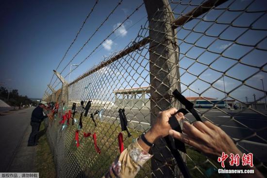 日防卫相与美海军陆战队司令会晤 确认推进边野古搬迁