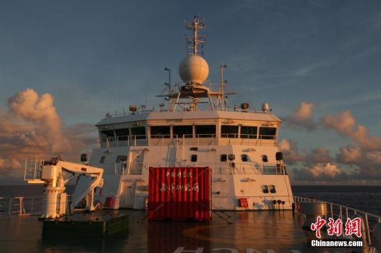 中国海洋科学综合考察船取得重大科技突破