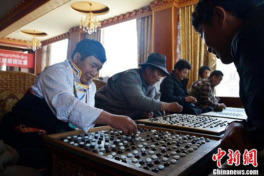 西藏传统藏棋诞生历史首批段位棋手