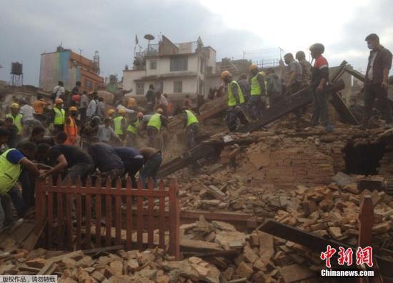 欧盟将派遣救援专家前往尼泊尔协助救灾