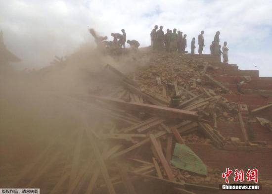 潘基文向尼地震伤亡者致深切慰问 联合国准备救援
