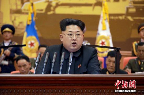 资料图:朝鲜最高领导人金正恩。图片来源:CFP视觉中国