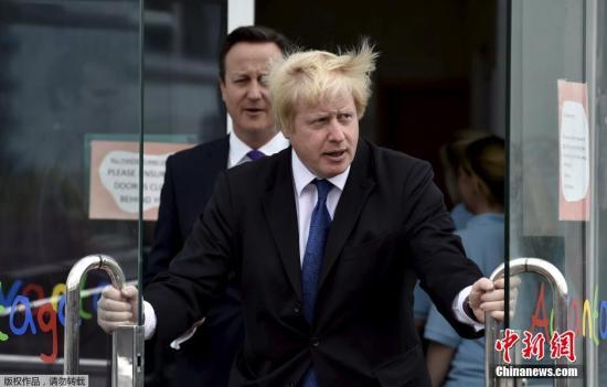 """伦敦市长表态支持英国脱欧:""""是时候投票改变"""""""