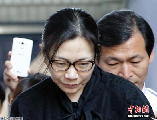 资料图:前大韩航空副社长赵显娥。