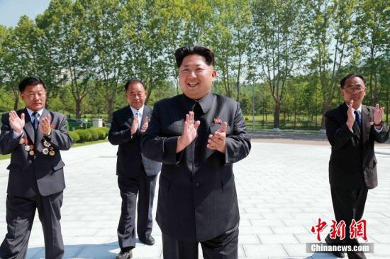 资料图:朝鲜最高领导人金正恩。 图片来源:CFP视觉中国