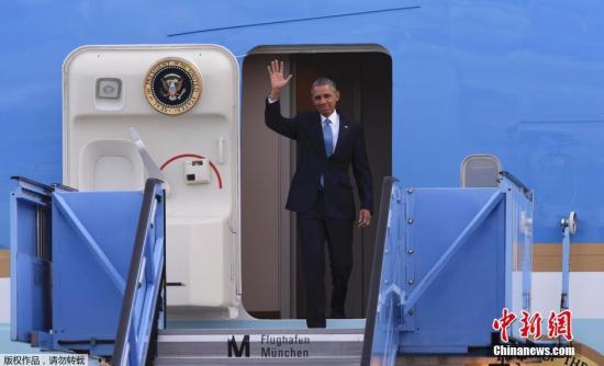 材料图:美国总统奥巴马