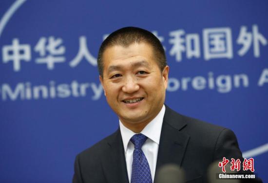 资料图:中国外交部发言人陆慷。中新社发 刘关关 摄