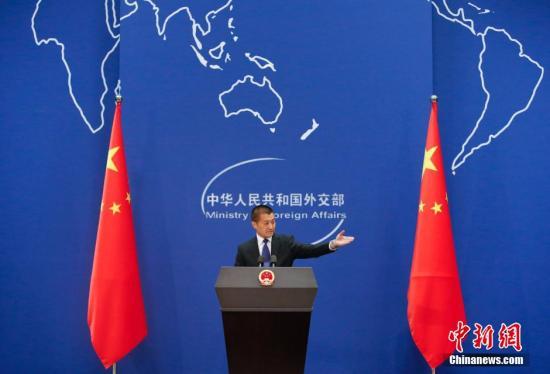"""中方:乐见并欢迎法国在""""一带一路""""建设中发挥积极作用"""