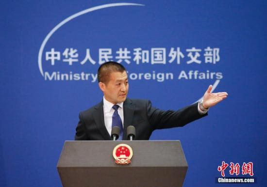 中国外交部发言人陆慷。中新社发 刘关关 摄