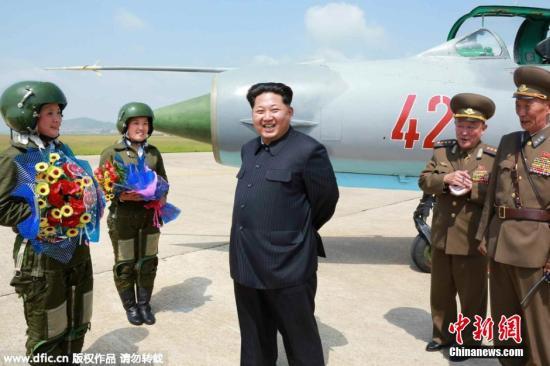 资料图片:朝鲜最高领导人金正恩。图片来源:东方IC 版权作品 请勿转载