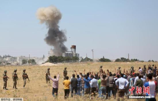 IS攻击叙利亚重镇致数十人死 美忧俄介入叙危机