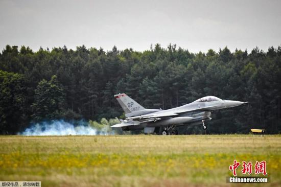 U.S. air force F-16 jet crashes, pilot injured