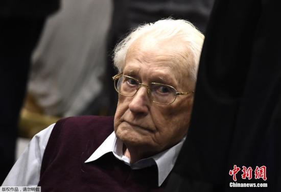 图为格勒宁在2015年出庭受审。